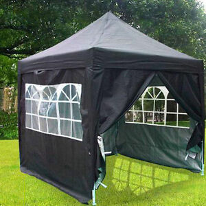 WATERPROOF 2.5m x 2.5m Pop Up Party Tent Garden Gazebo Canopy Free Roller Bag | eBay & WATERPROOF 2.5m x 2.5m Pop Up Party Tent Garden Gazebo Canopy Free ...