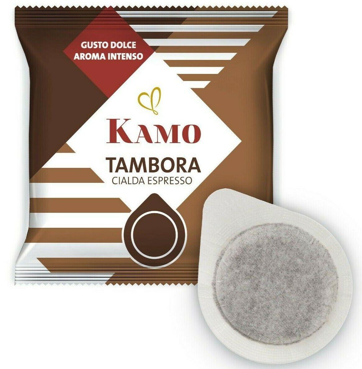 Immagine 1 - 150 Cialde Caffè KAMO Filtro carta ESE 44mm Miscela Tambora