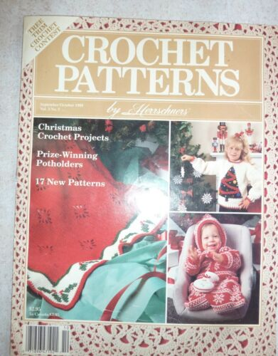 VINTAGE CROCHET PATTERNS by Herrschners Christmas, Misc & Clothing