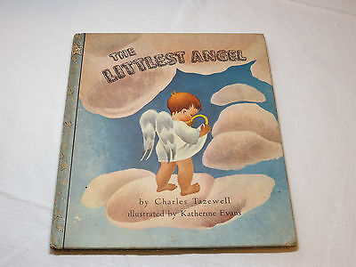 The Littlest Angel by Charles Tazewell Illustrated Hardcover Vintage RARE 1946