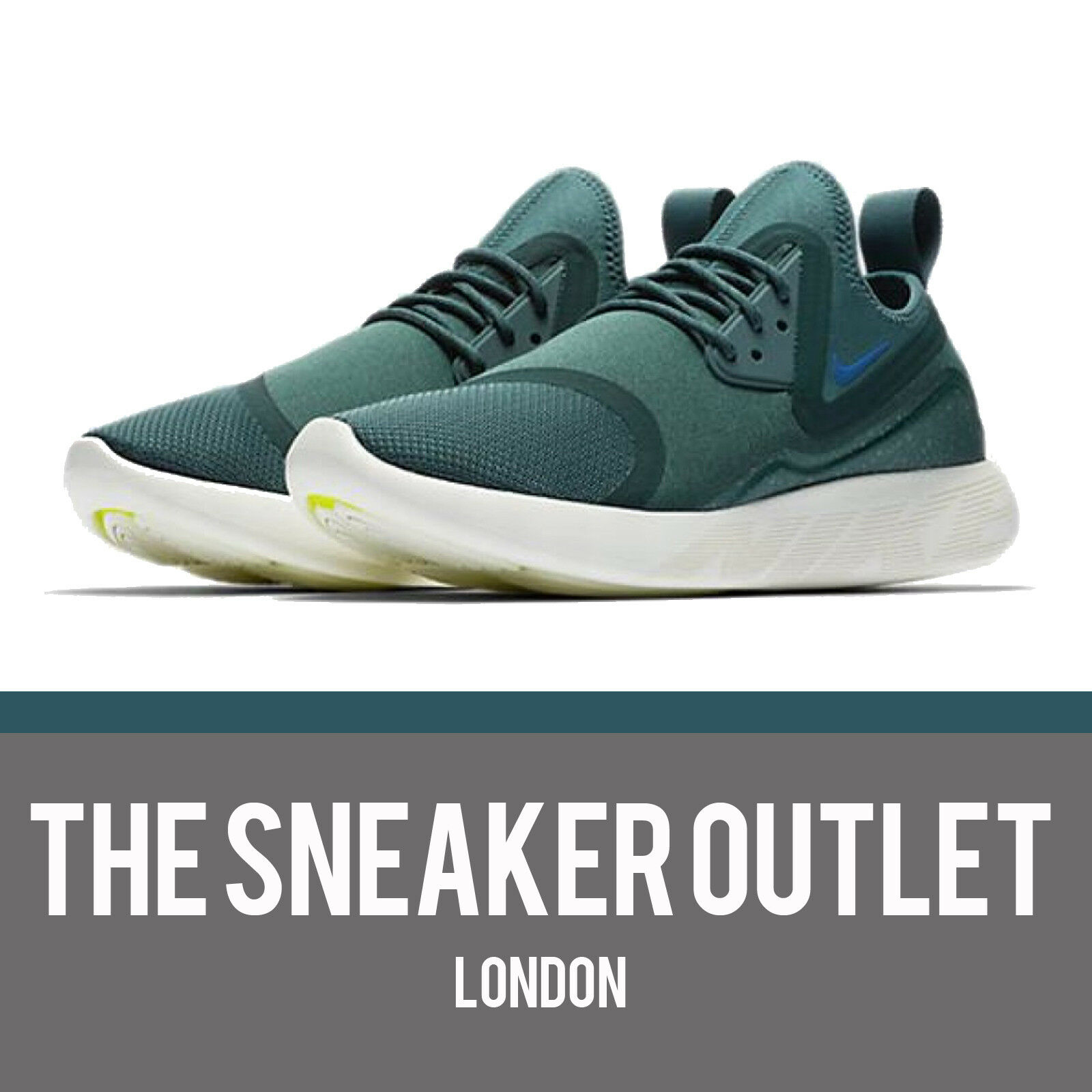 Teal Essential LunarCharge Mens New Jade Nike 9 Größe UK
