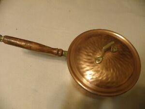 Vintage-hammered-copper-4-quart-saucepan-marked-Turkish-BX-Incerlik