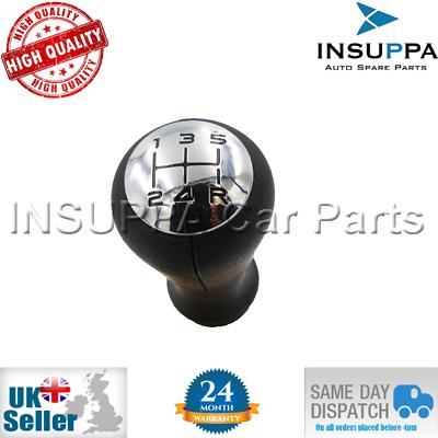 Cosciente 5 Velocità Gear Shift Knob Per Peugeot 106 206 306 406 605 2403.ap-