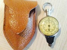 Vintage German Opisometer Map Measurer & Compass with Leather Case