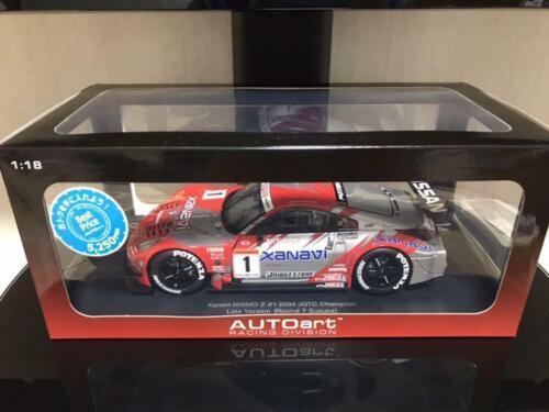 AUTOart 1//18 Xanavi nismo Z 2004 Series Champion Car JGTC GT500 class