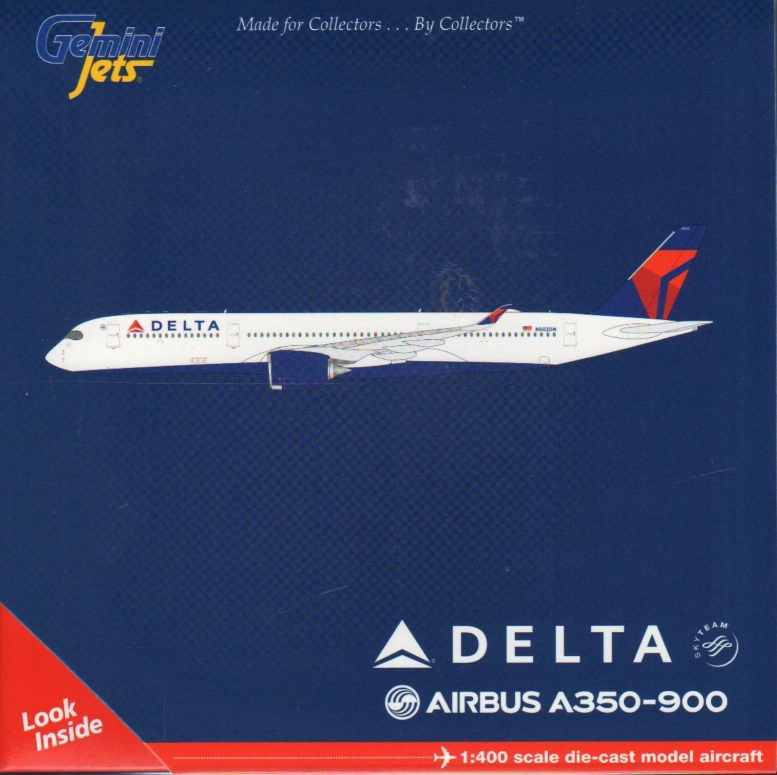 Geminijets delta air lines - n502dn 1 400 skala ein diecast modell - flugzeug.