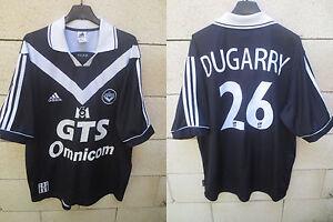 Maillot-GIRONDINS-DE-BORDEAUX-2000-ADIDAS-DUGARRY-n-26-shirt-football-vintage-L