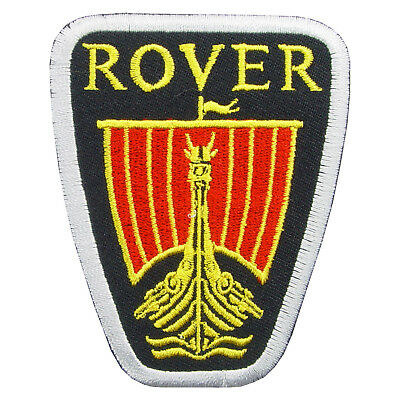 ROVER Logo Embroidered Iron On Patch #PRV011