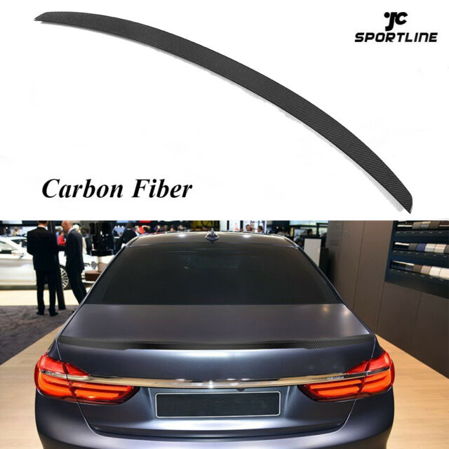 Carbon Fiber Rear Boot Spoiler Fit for BMW G11 G12 7Series 740i 750i 2016-2018