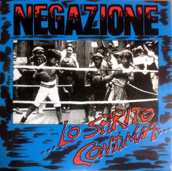 NEGAZIONE Lo spirito continua ... CD RE RM Hardcore Punk 5° Braccio Antistato