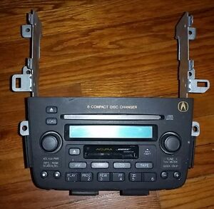 Acura MDX Radio TapeCD ChangerSTEREO No Code W MOUNTAIN - Acura mdx cd player