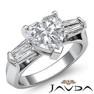 3-3-Piedra-Corazon-Diamante-Reconfortante-Anillo-de-Compromiso-GIA-G-SI1-Platino