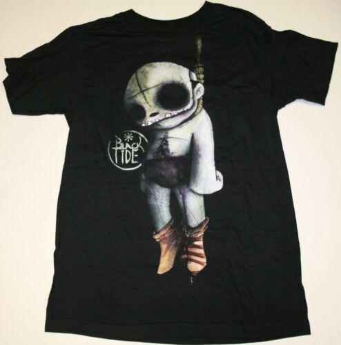 """BLACK TIDE Post Mortem OFFICIAL BLACK /"""" Doll Hanging/"""" T-Shirt"""