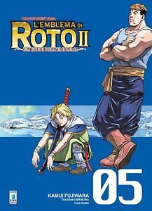 100% Vrai L'emblema Di Roto Ii N. 5 - Gli Eredi Dell'emblema - Manga Star Comics Italiano Mode Attrayante