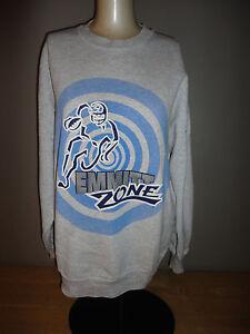 on sale e0585 44ca3 Details about Dallas Cowboys EMMITT SMITH - EMMITT ZONE Gray Sweatshirt  STARTER - Adult Large