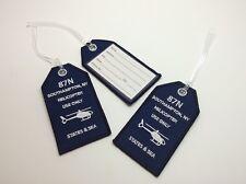 Southampton Netjets Shinnecock Hills Private Aviation Netjets Luggage Tag