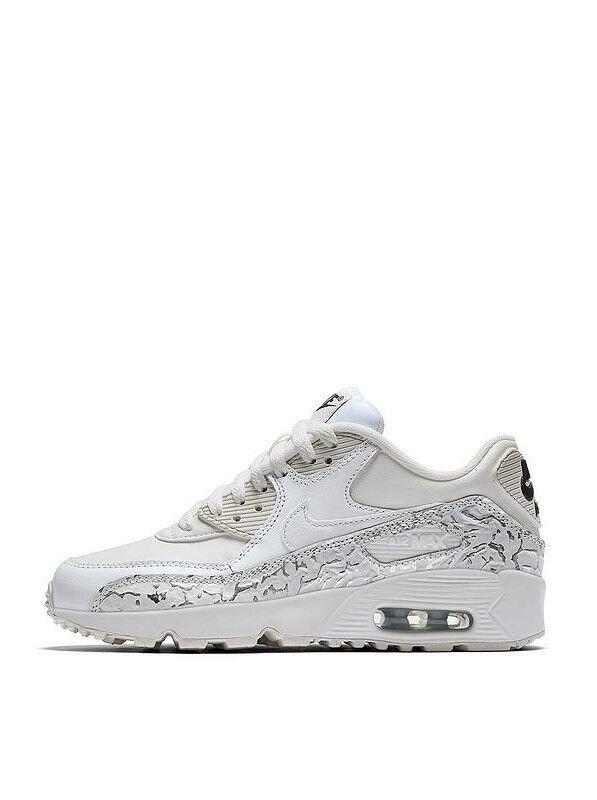 Nike Air Max 90 Ltr SE GG 897987-100 Girls Sneakers /Femme Sneakers Girls 8d8b3e