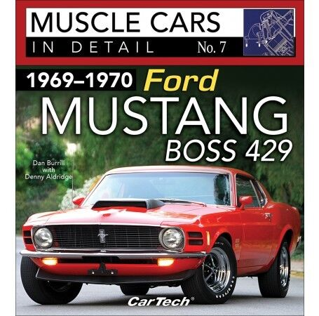 1969-1970 Mustang Boss 429 Specs Engine//Trans//Interior//Paint//Option//Codes CT587