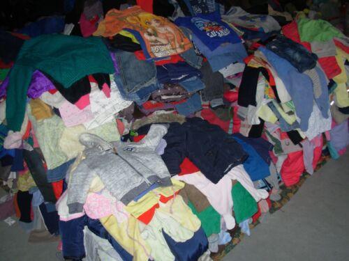 // Friperie enfant de 2ans à 6ans MIXTE Lot de 50 Vêtements et