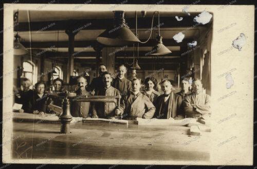Foto-AK-Stuttgart-Fabrik-Betrieb-Industrie-Gewerbe-1919