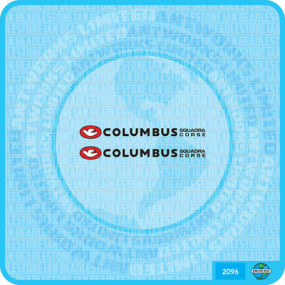 Set 118 Columbus Bicycle Fork Decal Transfer Sticker
