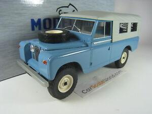 Land Rover Series Ii 109 Pick Up Fermé 1959 1/18 Mcg (bleu)
