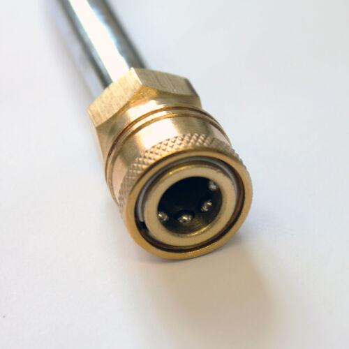 Arandela de presión u-Bend Alcantarilla Lanza Chorro de limpieza de lavado 740mm