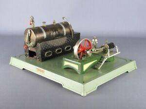 Fleischmann Vintage Toy Tin Machine IN Steam Years' 50