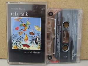 Talk-Talk-Natural-History-The-Very-Best-Of-CASSETTE-TAPE-1990-Greatest-Hits