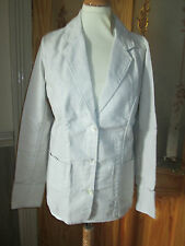 cotton traders beige linen blend blazer jacket size 20 brand new with tags