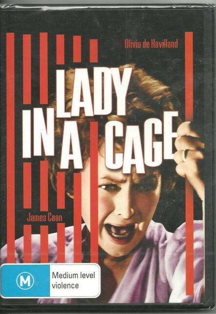 LADY IN A CAGE - OLIVIA DE HAVILLAND - JAMES CAAN - DVD