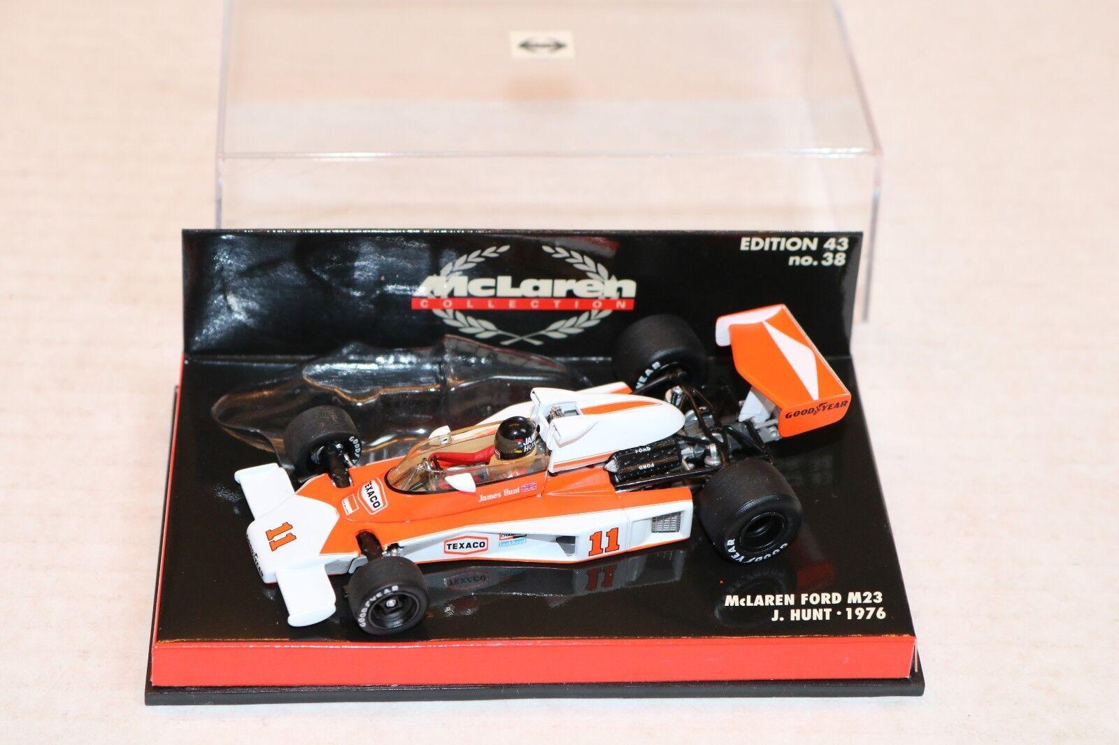 1 43 Mc Laren Ford M23 James Búsqueda Campeón Del Mundo F1 1976 Extraíble