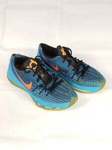 low priced 26e2c 35428 Image is loading NIKE-KD-7-Youth-Kevin-Durant-Bright-Aqua-
