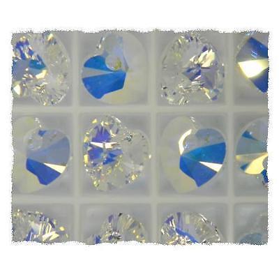 Genuine Swarovski Crystal AB Heart 6228 Pendant