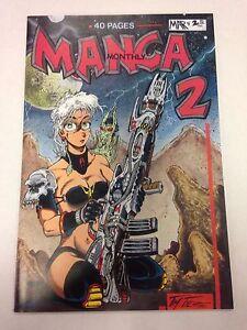 Manga-Monthly-volume-1-2-March-1991-Tim-Tyler-artwork