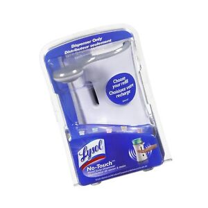 Lysol No Touch Automatic Hand Soap Dispenser 1 Count