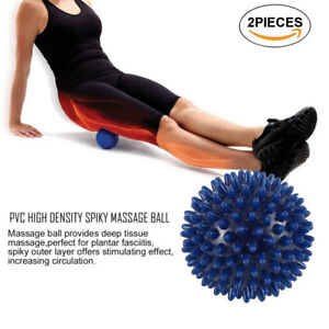 Pedimend High Density Spiky Massage Ball (2 PCS) - Provide Deep Tissue Massage