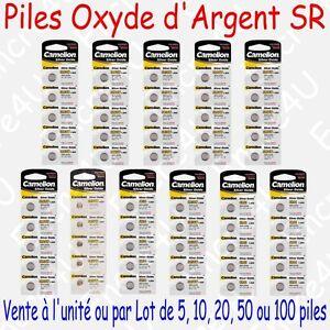Pile-Bouton-Montre-SR-Oxyde-d-039-argent-1-55V-G0-G1-G2-G3-G4-G6-G7-G10-G11-G12-G13