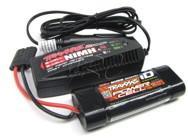 2 NEW Traxxas 1//16 E-Revo Slash Summit Teton 1200mah Nimh Battery Pack
