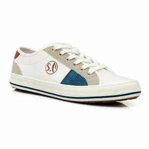 soliver women's 23665 white silver casual shoes  ebay