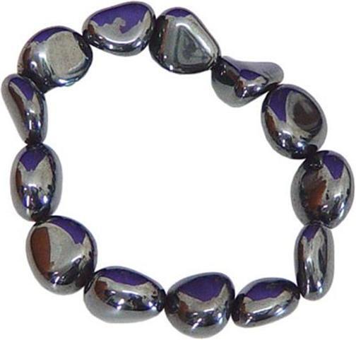 Hematite Tumbled Stone Bracelet!