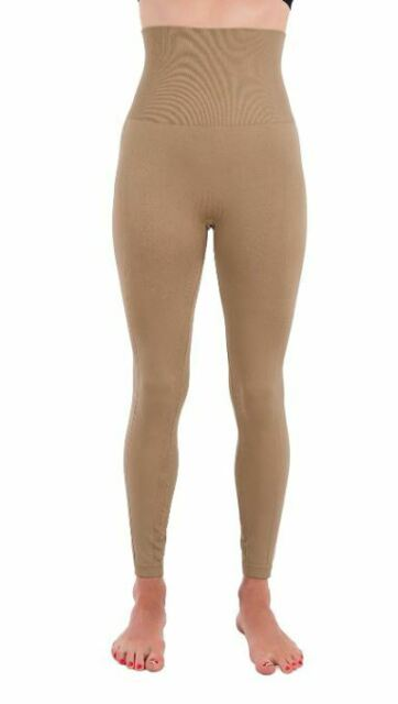 Homma Xl Premium Thick High Waist Tummy Compression Slimming Leggings Ebay