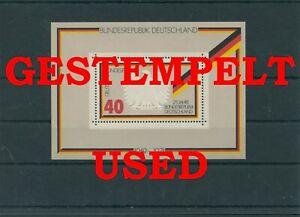 Germany-Federal-Frg-vintage-yearset-1974-Block-10-Postmarked-Used-More-Sh-Shop