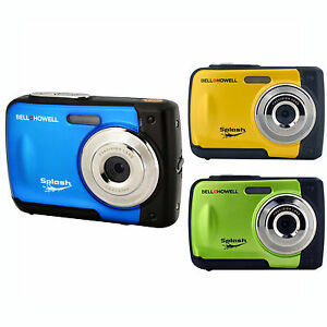 Bell-Howell-WP10-Splash-12-Megapixel-Waterproof-Digital-Camera-with-2-4-Inch-LCD