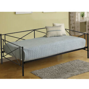 Details About New Victoria Metal Daybed Metal Sofa Bed Frame Multifunctional With Metal Slates