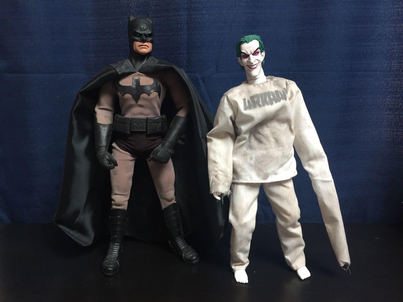 """Batman & Joker Dead End Custom 1/6 Scale 12"""" Figure Set Dark Knight Fan Film"""