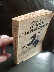 El-Secret-de-La-Reina-Christine-A-Viollis-1944-Gutenberg-A-Lyon-IN-12ABE-Front