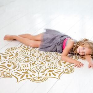 Reflexiones-Mandala-Stencil-por-craftstar-Large-reutilizable-Bricolaje-Mandala-plantilla