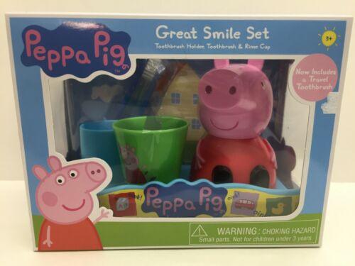Nickelodeon Nick Jr Peppa Pig Great Smile Toothbrush Gift Set Oral Care Children