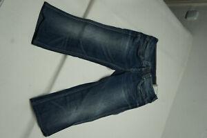 Pepe-Jeans-Slinky-Damen-Stretch-Short-Capri-Sommer-Hose-Bermuda-W31-Blau-NEU-P14
